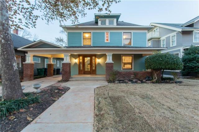 809 NW 18th Street, Oklahoma City, OK 73106 (MLS #844221) :: Homestead & Co