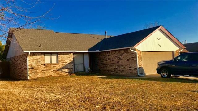 124 Oak Tree Lane, Midwest City, OK 73130 (MLS #844230) :: Homestead & Co