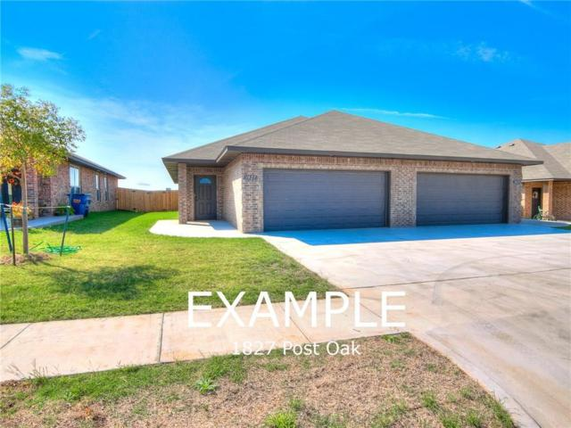 1845 Post Oak, El Reno, OK 73036 (MLS #844334) :: Homestead & Co