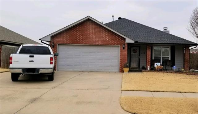 413 Madison Place, Moore, OK 73160 (MLS #844754) :: KING Real Estate Group