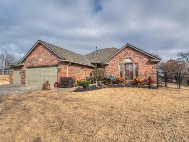19851 Ancestor Place, Harrah, OK 73045 (MLS #844848) :: KING Real Estate Group