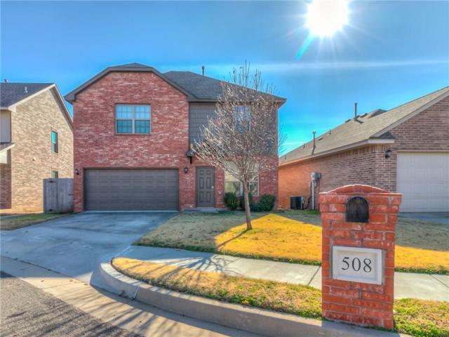 508 SW 120th Terrace, Oklahoma City, OK 73170 (MLS #845074) :: Erhardt Group at Keller Williams Mulinix OKC