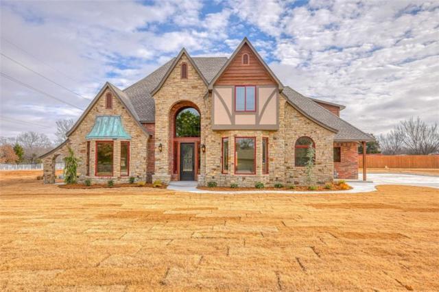 1580 Moran, Choctaw, OK 73020 (MLS #845087) :: KING Real Estate Group
