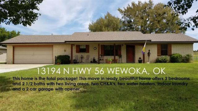13194 N Hwy 56, Wewoka, OK 74884 (MLS #845171) :: Homestead & Co