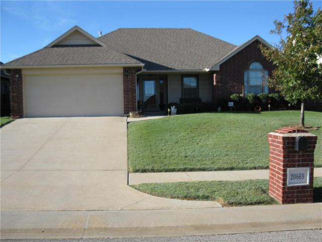 20669 Frontier Pl, Harrah, OK 73045 (MLS #845290) :: KING Real Estate Group