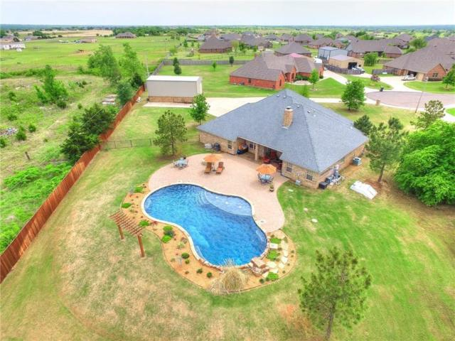 4509 Hillcrest Lane, Edmond, OK 73025 (MLS #845345) :: Homestead & Co