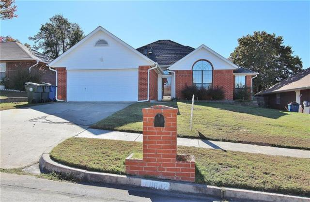 11642 Elmhurst Drive, Midwest City, OK 73130 (MLS #845584) :: Homestead & Co