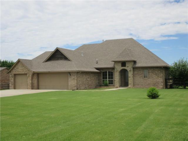 4531 Apple Estates Road, Moore, OK 73160 (MLS #845622) :: Erhardt Group at Keller Williams Mulinix OKC