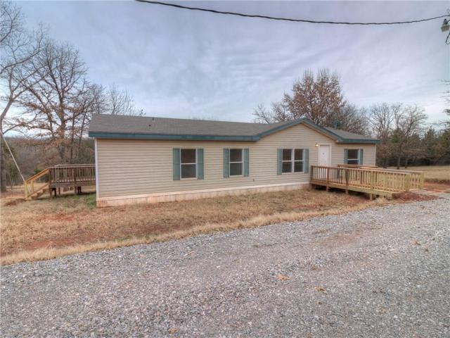 16400 Viking Road, Noble, OK 73068 (MLS #845958) :: Homestead & Co