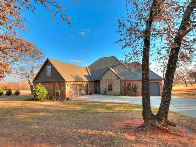 3440 Fawn Run, Blanchard, OK 73010 (MLS #846089) :: Homestead & Co