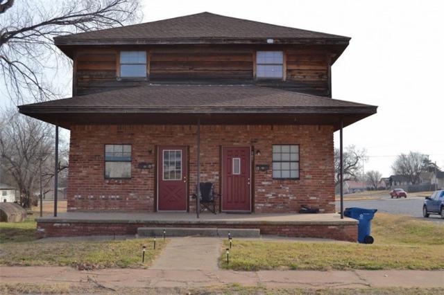 307 N College, Cordell, OK 73632 (MLS #846098) :: Denver Kitch Real Estate