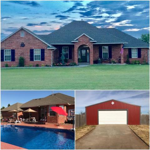1635 E Rock Creek, Tuttle, OK 73089 (MLS #846174) :: KING Real Estate Group