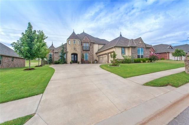 3008 Saint Fergus Drive, Edmond, OK 73034 (MLS #846206) :: Wyatt Poindexter Group