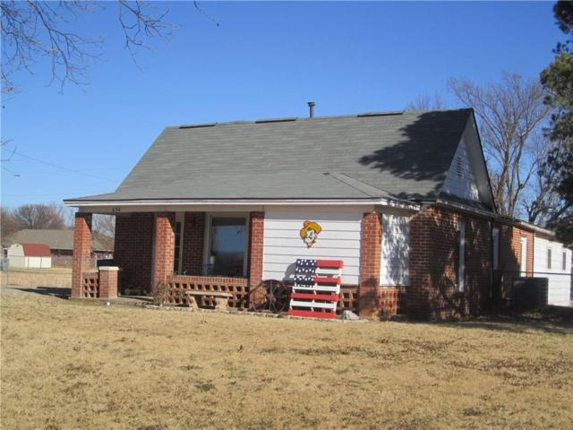 634 N Broadway Avenue, Hydro, OK 73048 (MLS #846545) :: Erhardt Group at Keller Williams Mulinix OKC