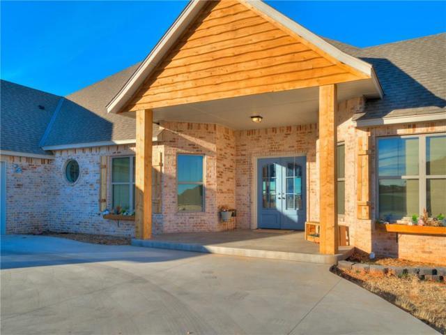 1501 High Ridge Drive, Blanchard, OK 73010 (MLS #846684) :: Keller Williams Mulinix OKC