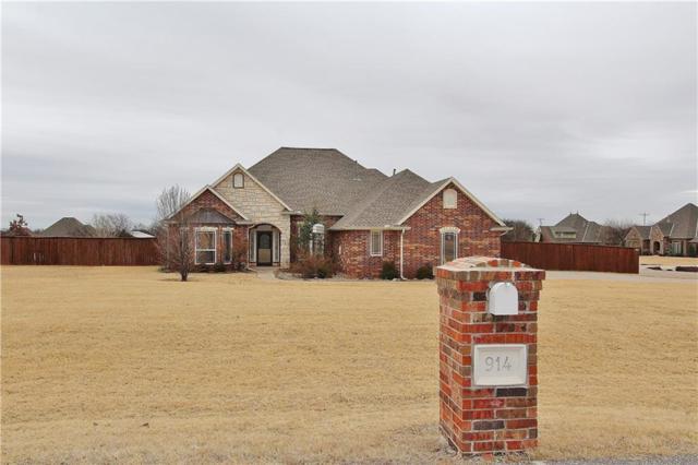 914 Green Gulch, Piedmont, OK 73078 (MLS #846713) :: KING Real Estate Group