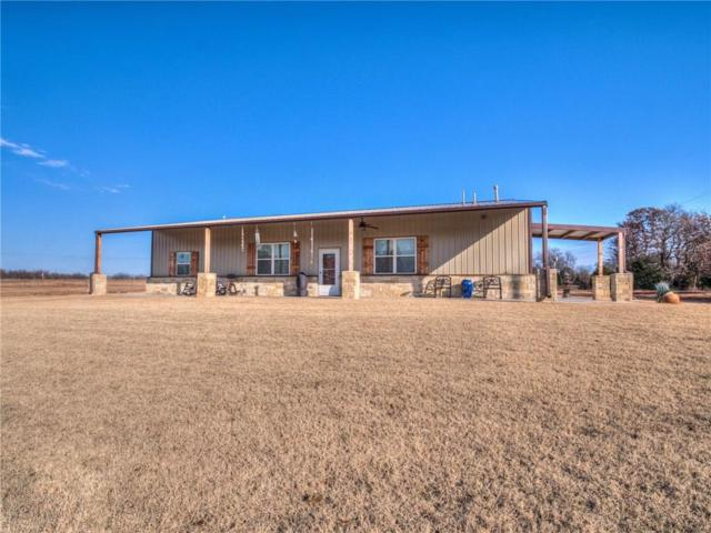 4460 N Pottawatomie Road, Harrah, OK 73045 (MLS #848695) :: KING Real Estate Group