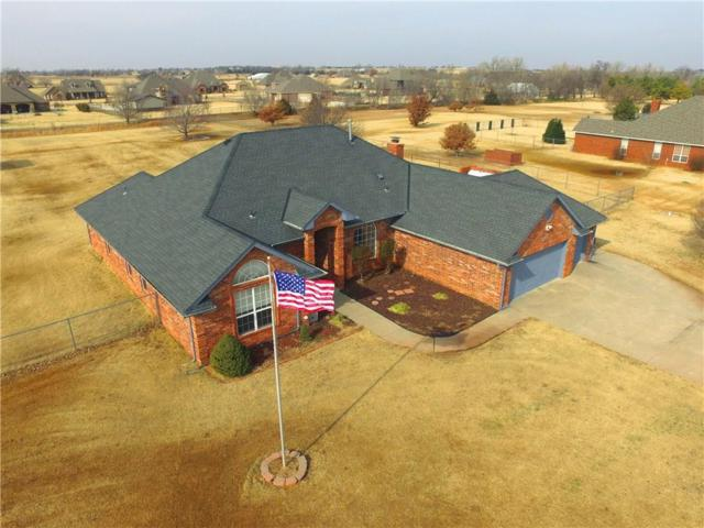 5001 Polo Lane, Mustang, OK 73064 (MLS #848836) :: Erhardt Group at Keller Williams Mulinix OKC