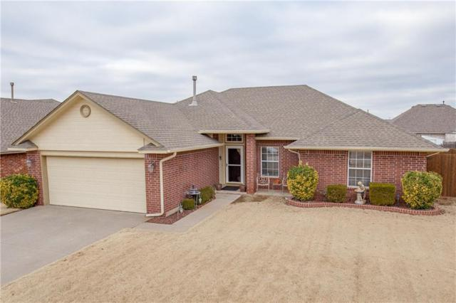 413 E Magnolia Terrace, Mustang, OK 73064 (MLS #848995) :: Erhardt Group at Keller Williams Mulinix OKC