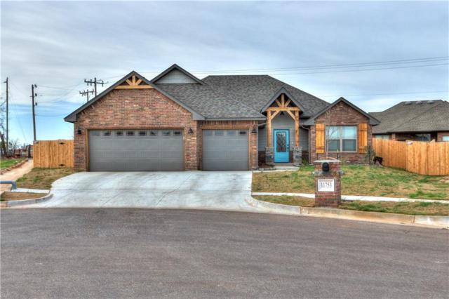 1801 W Trout Way, Mustang, OK 73064 (MLS #849037) :: Erhardt Group at Keller Williams Mulinix OKC