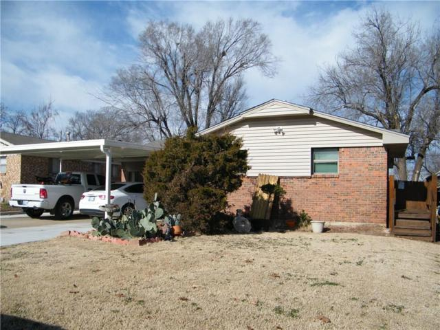 901 Stiver Drive, Midwest City, OK 73110 (MLS #849287) :: Homestead & Co