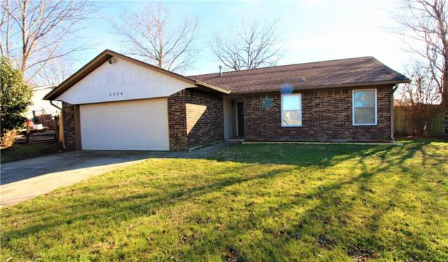 5904 SE 8, Midwest City, OK 73110 (MLS #849407) :: Barry Hurley Real Estate