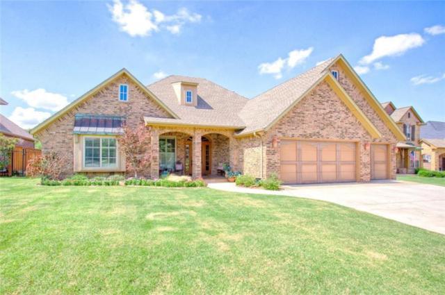 13101 Blue Canyon Circle, Oklahoma City, OK 73142 (MLS #849816) :: Homestead & Co