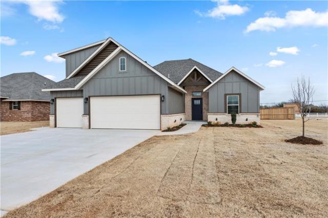 1350 N Taylor Way, Mustang, OK 73064 (MLS #851855) :: Homestead & Co