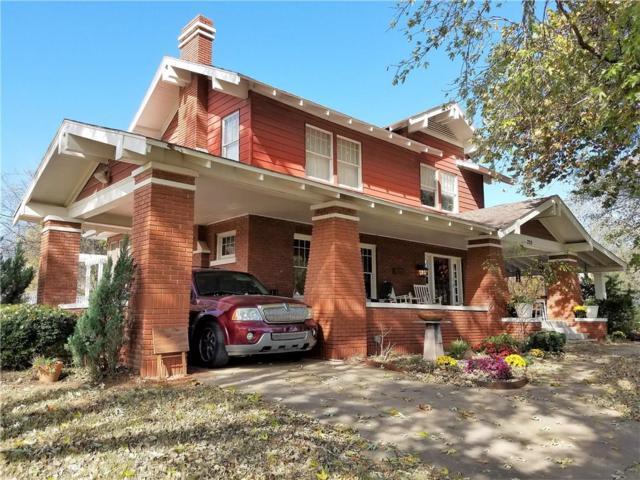223 N 4th Street, Purcell, OK 73080 (MLS #853086) :: Homestead & Co