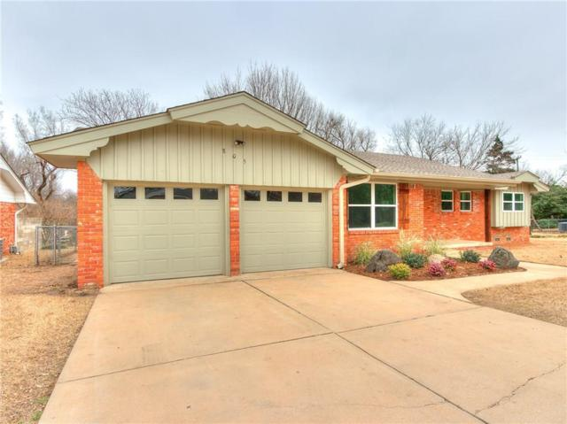 805 Morningside Drive, Norman, OK 73071 (MLS #853461) :: Erhardt Group at Keller Williams Mulinix OKC