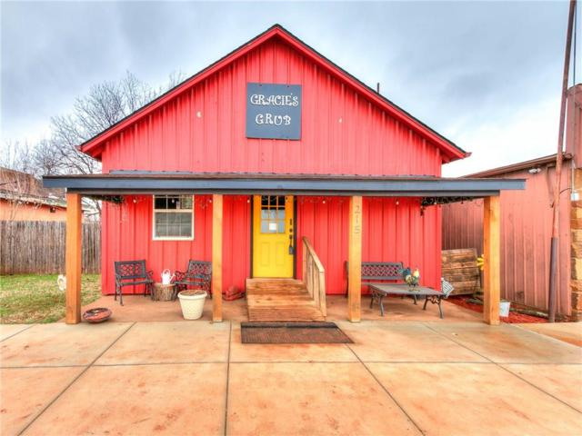 215 S Main Street, Cashion, OK 73016 (MLS #853486) :: Homestead & Co