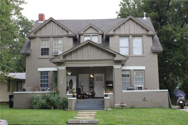 1815 W Park Place, Oklahoma City, OK 73106 (MLS #853497) :: KING Real Estate Group