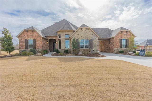 2466 La Belle Rue, Edmond, OK 73034 (MLS #853551) :: Homestead & Co