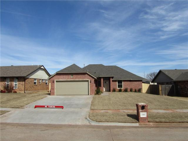 1809 Pinewood Drive, Moore, OK 73160 (MLS #853700) :: Erhardt Group at Keller Williams Mulinix OKC