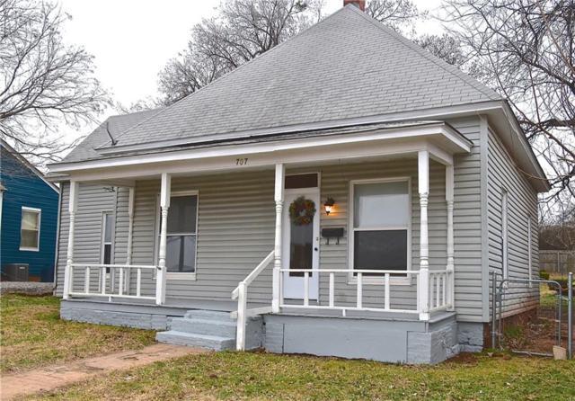 707 E Logan Avenue, Guthrie, OK 73044 (MLS #853719) :: KING Real Estate Group
