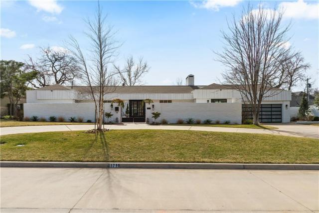 1716 Coventry Lane, Nichols Hills, OK 73120 (MLS #853749) :: Homestead & Co