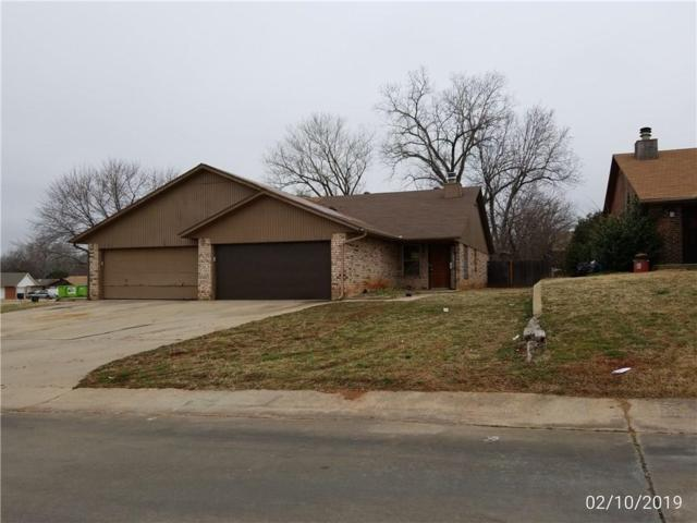 1109 Parkview Drive, Midwest City, OK 73110 (MLS #853788) :: KING Real Estate Group