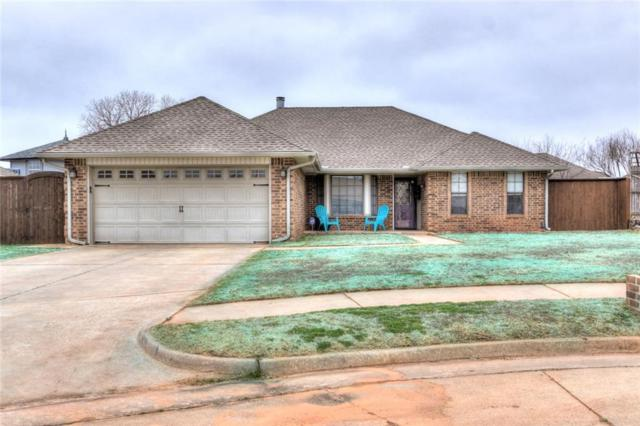 1405 N Park Place, Moore, OK 73160 (MLS #853876) :: KING Real Estate Group
