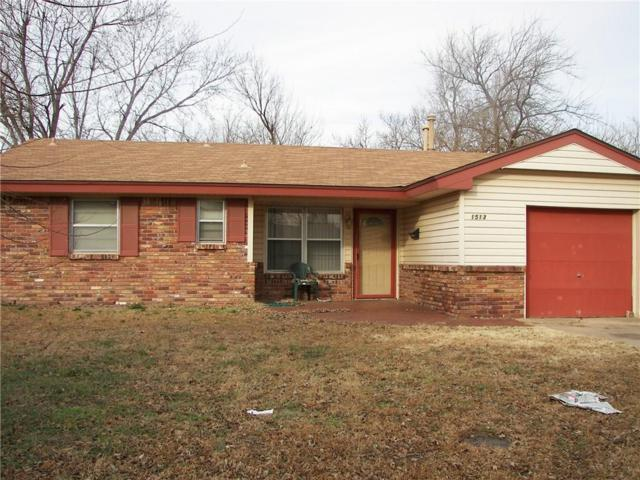1513 Tanglewood Drive, Del City, OK 73115 (MLS #854150) :: Homestead & Co