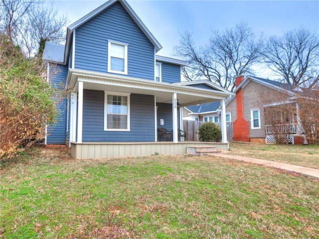 606 E Oklahoma, Guthrie, OK 73044 (MLS #854486) :: Homestead & Co