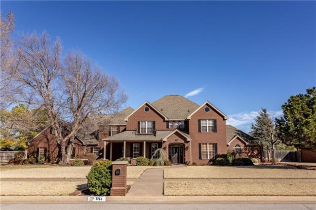1214 N Hickory Street, Weatherford, OK 73096 (MLS #854638) :: Homestead & Co