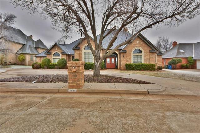 1109 Irvine Drive, Edmond, OK 73025 (MLS #855287) :: Homestead & Co