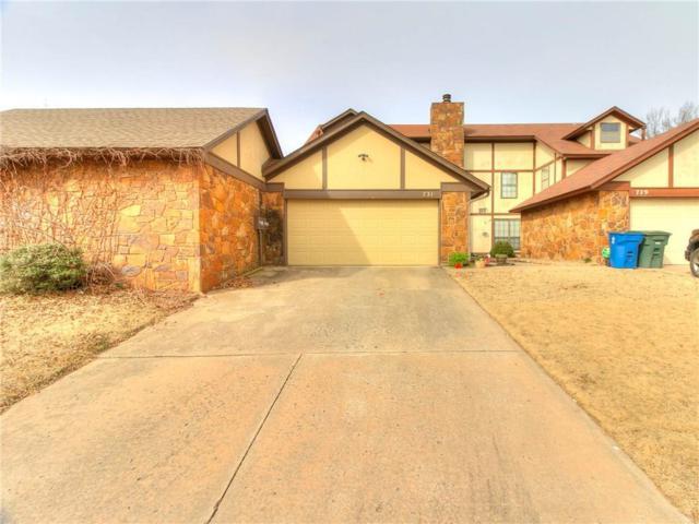 731 Rimrock Road, Edmond, OK 73034 (MLS #856076) :: Homestead & Co
