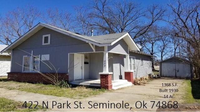 422 N Park Street, Seminole, OK 74868 (MLS #856226) :: Homestead & Co