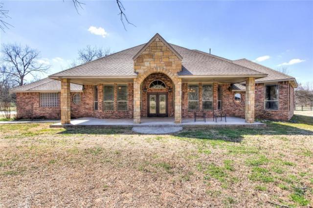 1401 Timber Ridge Drive, Choctaw, OK 73020 (MLS #856728) :: KING Real Estate Group