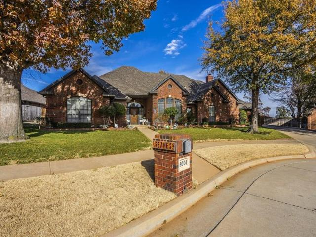8005 NW 128th Circle, Oklahoma City, OK 73142 (MLS #857309) :: Homestead & Co