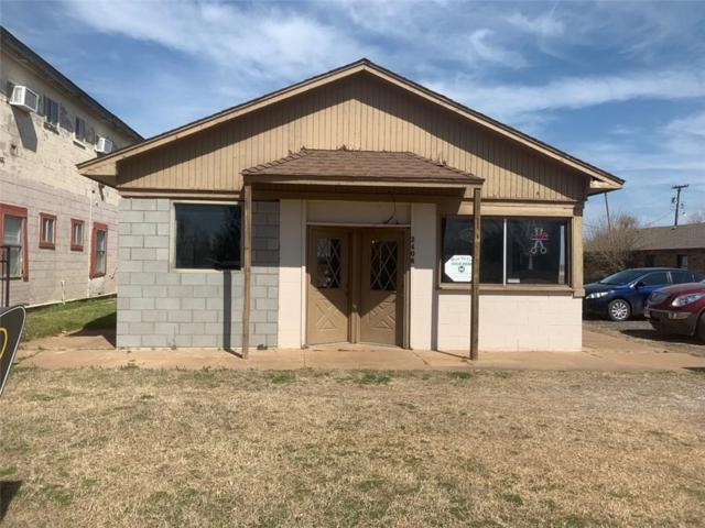 2406 Sunset Drive, El Reno, OK 73036 (MLS #857792) :: Homestead & Co