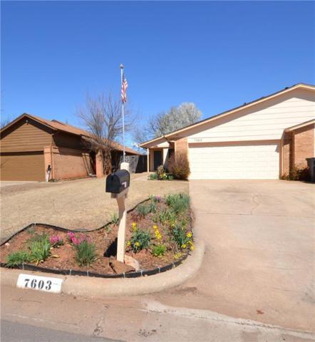 7603 NW 107th Street, Oklahoma City, OK 73162 (MLS #857933) :: Erhardt Group at Keller Williams Mulinix OKC