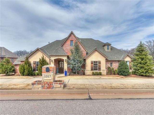 1317 Autumn Creek Drive, Edmond, OK 73003 (MLS #858094) :: Homestead & Co