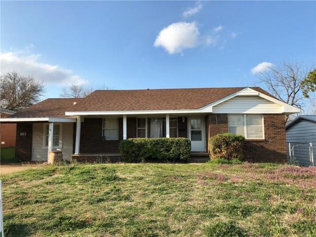 1113 Wilson Avenue, Clinton, OK 73601 (MLS #858303) :: Homestead & Co